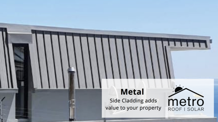 Metal Side Cladding adds value to your property