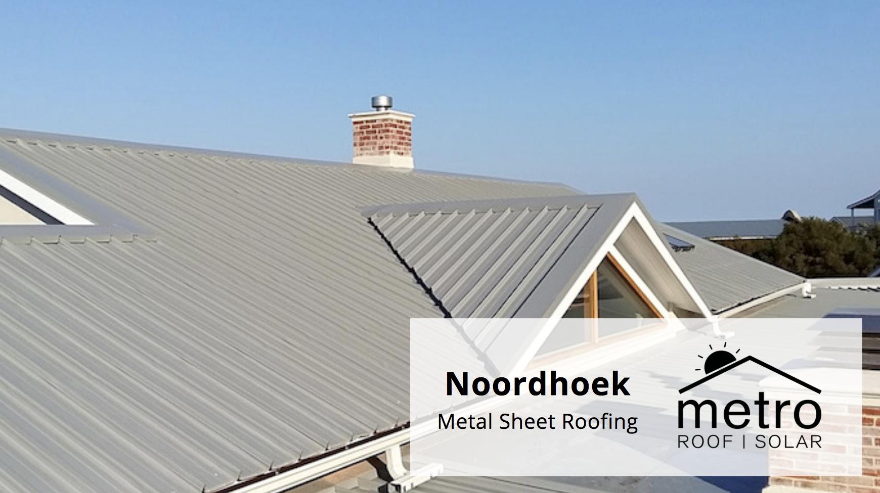 Metal Sheet Roofing in Noordhoek