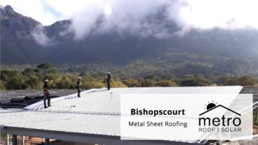 Metal Sheet Roofing Installation Bishopscourt