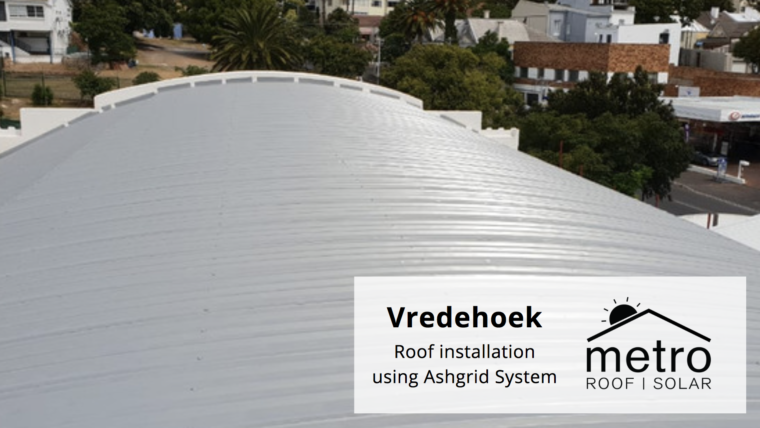Roof Installation using Ashgrid System