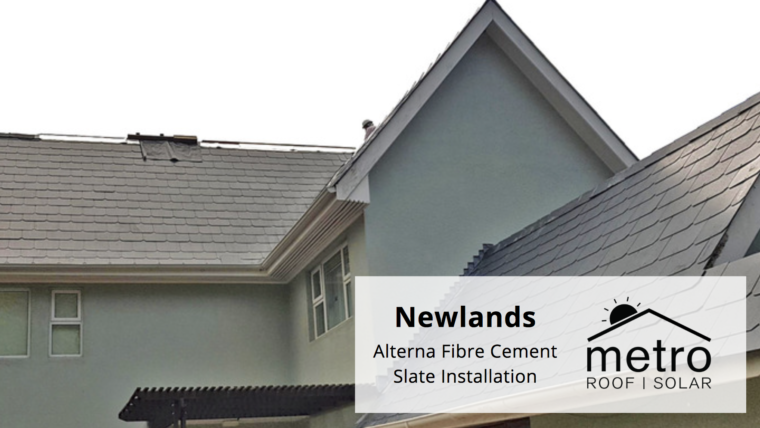 Alterna Fibre Cement Slate Installation