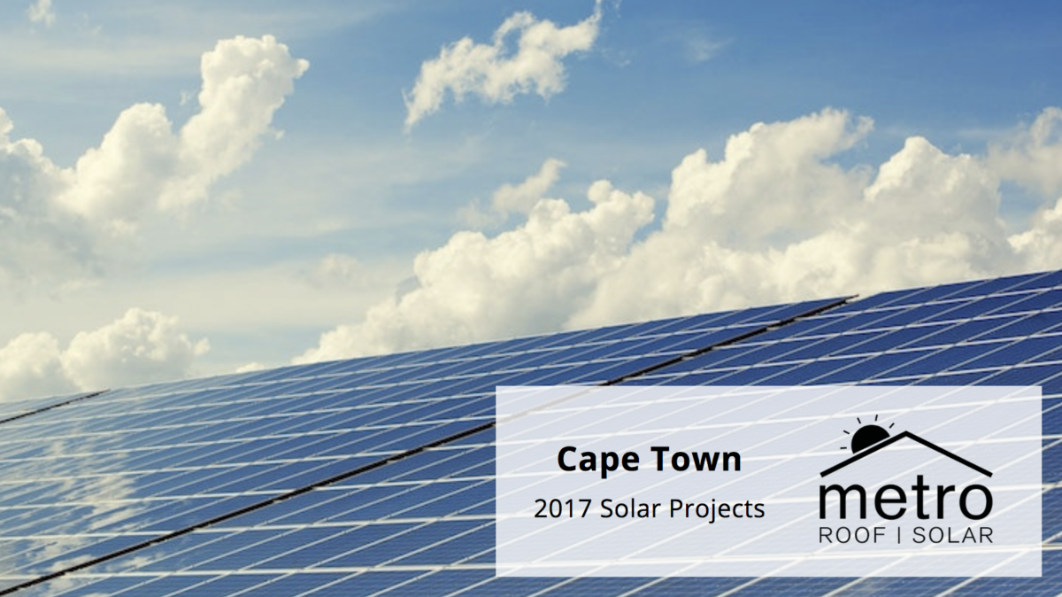 Solar Installations in Cape Town | 2017