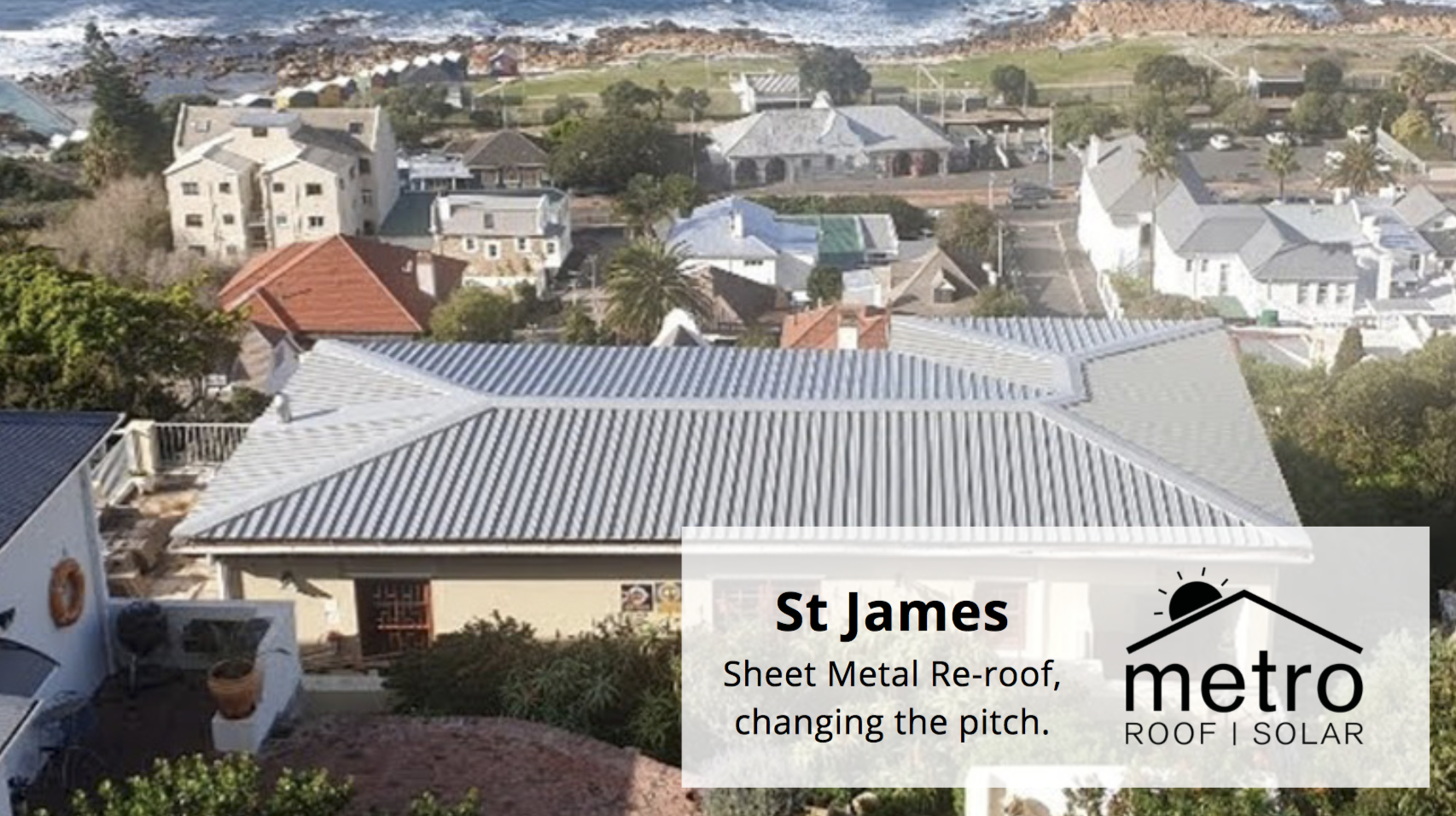 Sheet Metal Roofing in St James