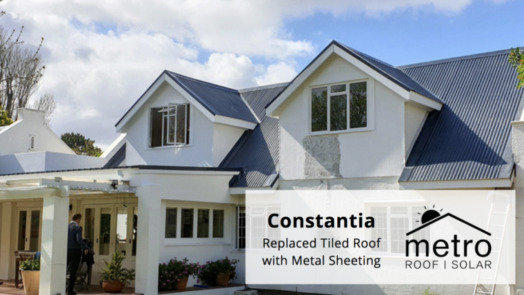 Metal Sheet Roofing in Constantia
