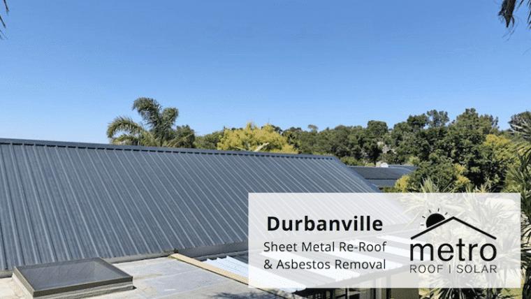 Metal Sheet Roof Installation in Durbanville