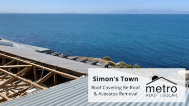 Corrugated Roof Covering in Simon's Town